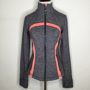 Lululemon forme zip jacket sz 6